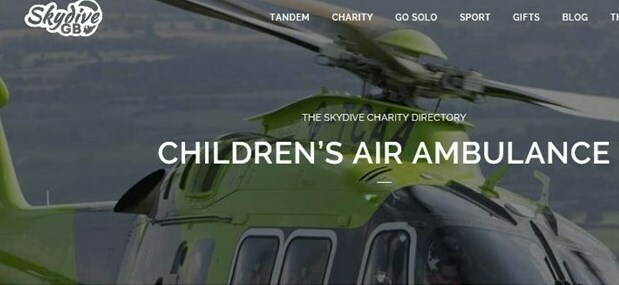 "Skydive for the Children's Air Ambulance ""Keeping Hope Alive"""